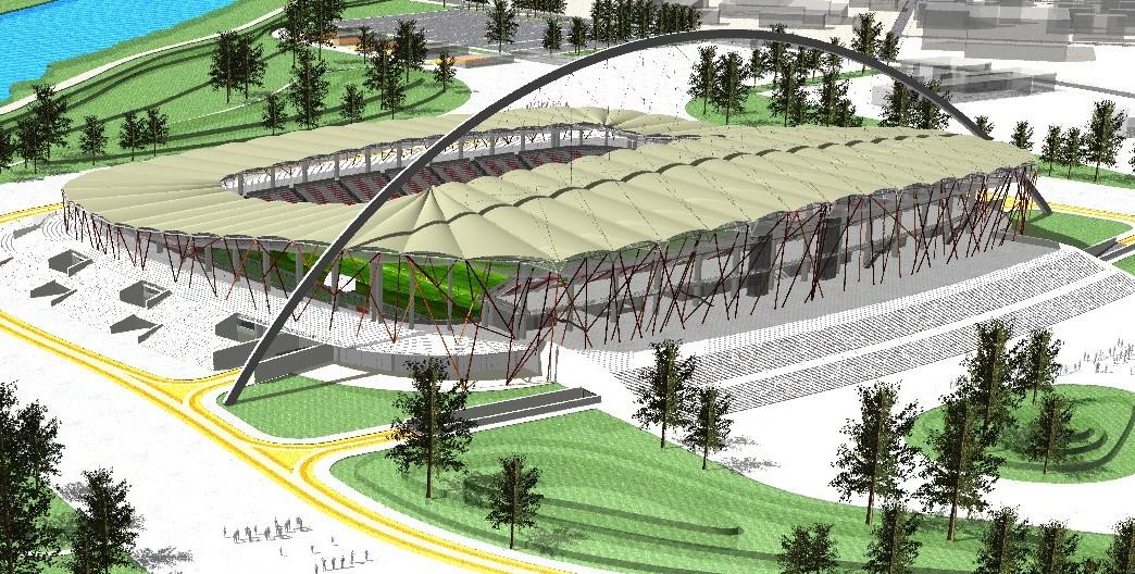 Stadion de fotbal – Alexandria