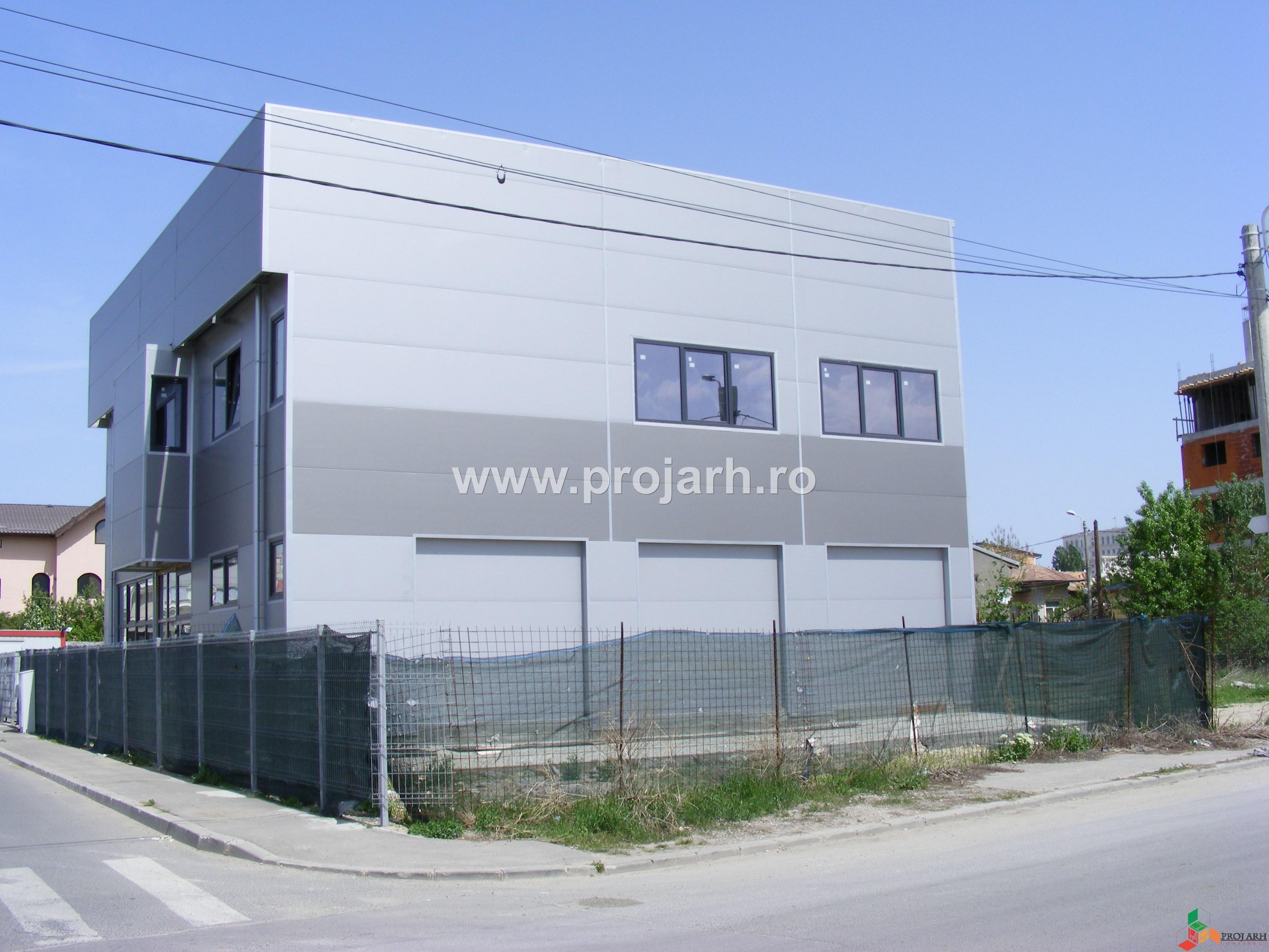 Service auto si birouri – P+1E, Petre Lintes
